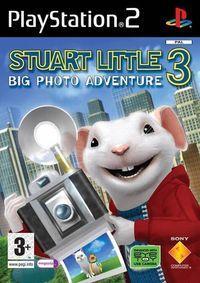 Portada oficial de Stuart Little 3 para PS2
