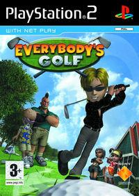 Portada oficial de Everybody's Golf para PS2