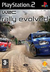 Portada oficial de WRC Evolved para PS2