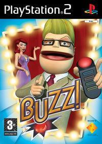 Portada oficial de Buzz para PS2