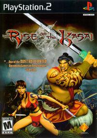 Portada oficial de Rise of the Kasai para PS2