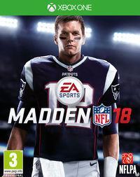 Portada oficial de Madden NFL 18 para Xbox One