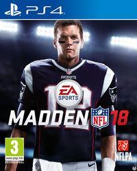 Portada oficial de Madden NFL 18 para PS4
