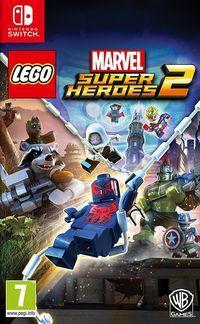 Portada oficial de LEGO Marvel Super Heroes 2 para Switch