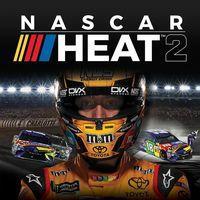Portada oficial de NASCAR Heat 2 para PS4