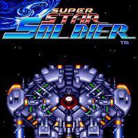 Portada oficial de Super Star Soldier CV para Wii U