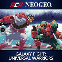 Portada oficial de NeoGeo Galaxy Fight: Universal Warriors para PS4