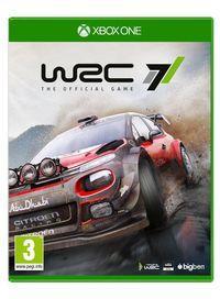 Portada oficial de WRC7 para Xbox One