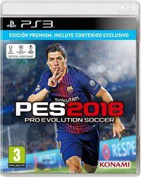 Portada oficial de Pro Evolution Soccer 2018 para PS3