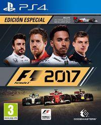 Portada oficial de F1 2017 para PS4