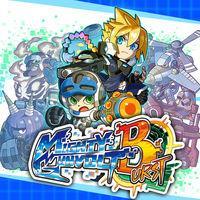 Portada oficial de Mighty Gunvolt Burst eShop para Nintendo 3DS
