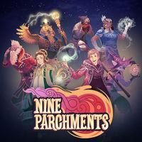Portada oficial de Nine Parchments para Switch