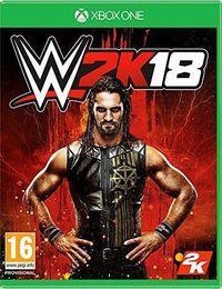 Portada oficial de WWE 2K18 para Xbox One