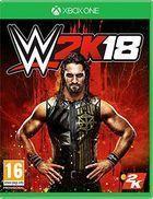 Portada oficial de de WWE 2K18 para Xbox One