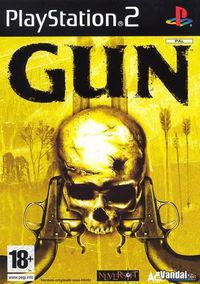 Portada oficial de Gun para PS2