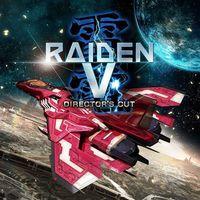Portada oficial de Raiden V: Director's Cut para PS4