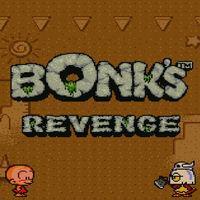 Portada oficial de Bonk's Revenge CV para Wii U
