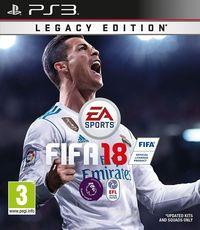 Portada oficial de FIFA 18 para PS3