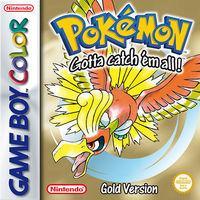 Portada oficial de Pokémon Edición Oro y Plata CV para Nintendo 3DS