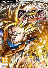 Portada oficial de Dragon Ball FighterZ para PC