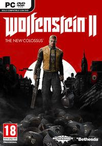 Portada oficial de Wolfenstein II: The New Colossus para PC