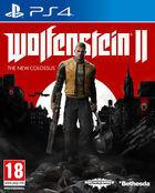 Portada oficial de de Wolfenstein II: The New Colossus para PS4