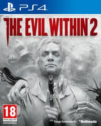 Portada oficial de The Evil Within 2 para PS4