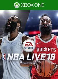 Portada oficial de NBA Live 18 para Xbox One