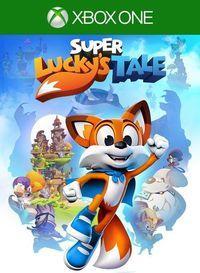 Portada oficial de Super Lucky's Tale para Xbox One