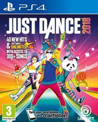 Portada oficial de Just Dance 2018 para PS4