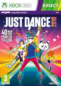Portada oficial de Just Dance 2018 para Xbox 360