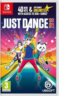 Portada oficial de Just Dance 2018 para Switch