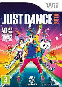 Portada oficial de Just Dance 2018 para Wii