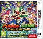 Portada oficial de de Mario & Luigi: Superstar Saga + Secuaces de Bowser para Nintendo 3DS