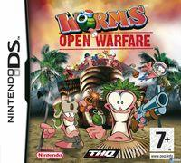 Portada oficial de Worms Open Warfare para NDS