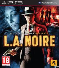 Portada oficial de L.A. Noire para PS3