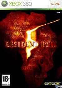 Portada oficial de Resident Evil 5 para Xbox 360
