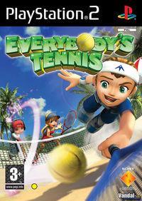 Portada oficial de Everybody's Tennis para PS2