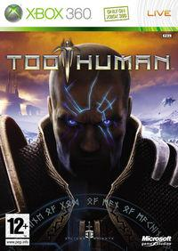 Portada oficial de Too Human para Xbox 360
