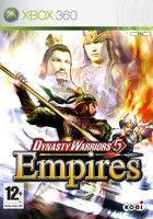Portada oficial de Dynasty Warriors 5 Empires para Xbox 360