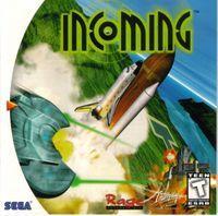 Portada oficial de Incoming para Dreamcast
