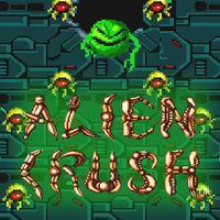 Portada oficial de Alien Crush CV para Wii U