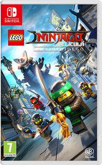 Portada oficial de La LEGO Ninjago Película: El videojuego para Switch