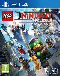Portada oficial de La LEGO Ninjago Película: El videojuego para PS4