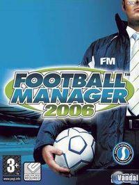 Portada oficial de Football Manager 2006 para Xbox 360