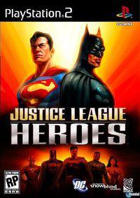 Portada oficial de Justice League Heroes para PS2
