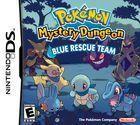Portada oficial de Pokémon Mystery Dungeon: Blue Rescue Team para NDS