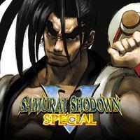 Portada oficial de Samurai Shodown V Special para PS4