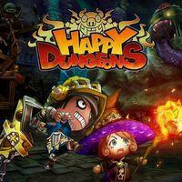 Portada oficial de Happy Dungeons para PS4