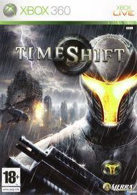 Portada oficial de TimeShift para Xbox 360